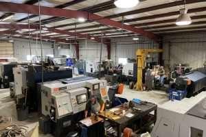 CNC MACHINE SHOP OVERHEAD VIEW2
